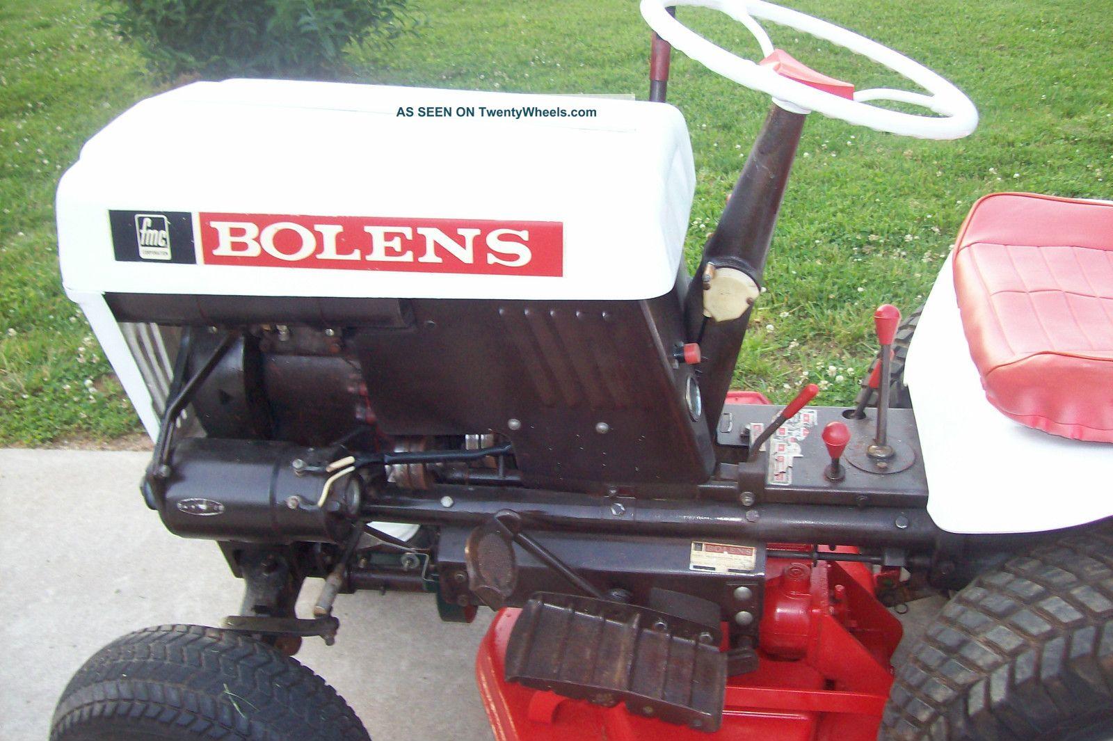 1965 Bolens Husky 1000 Garden Tractor Mower 42