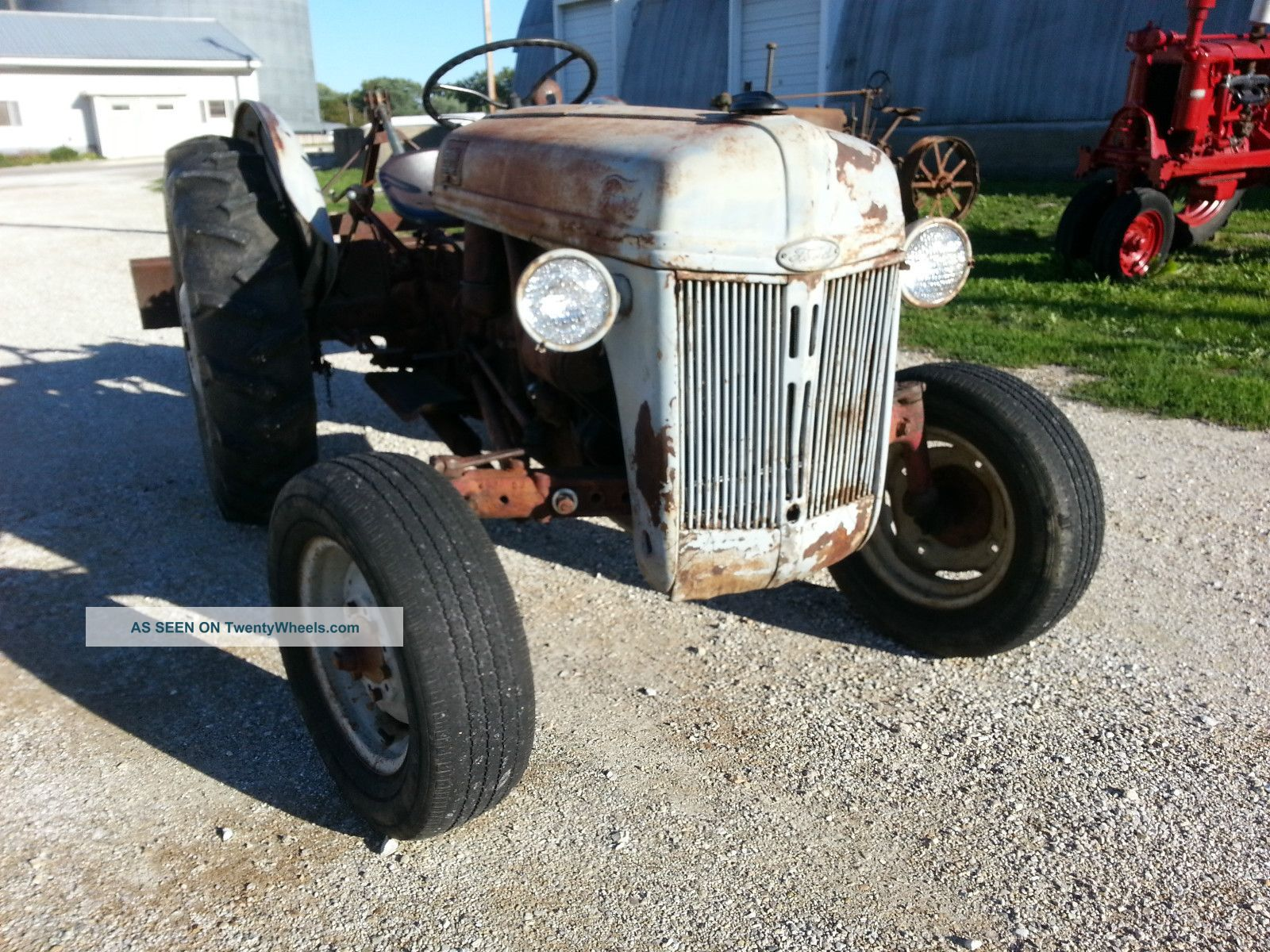 1949 Ford 8n Tractor Use Or Restore