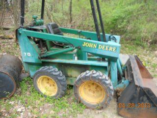 John Deere Model 70 Skid Steer Loader photo