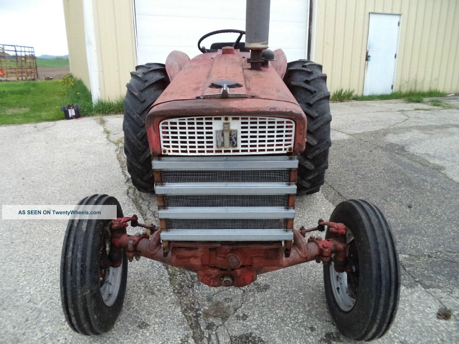 International 240 Utility Tractor : Ih farmall utility tractor w brush hog