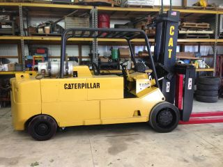 Caterpillar T400 Forklift Totally Redone photo