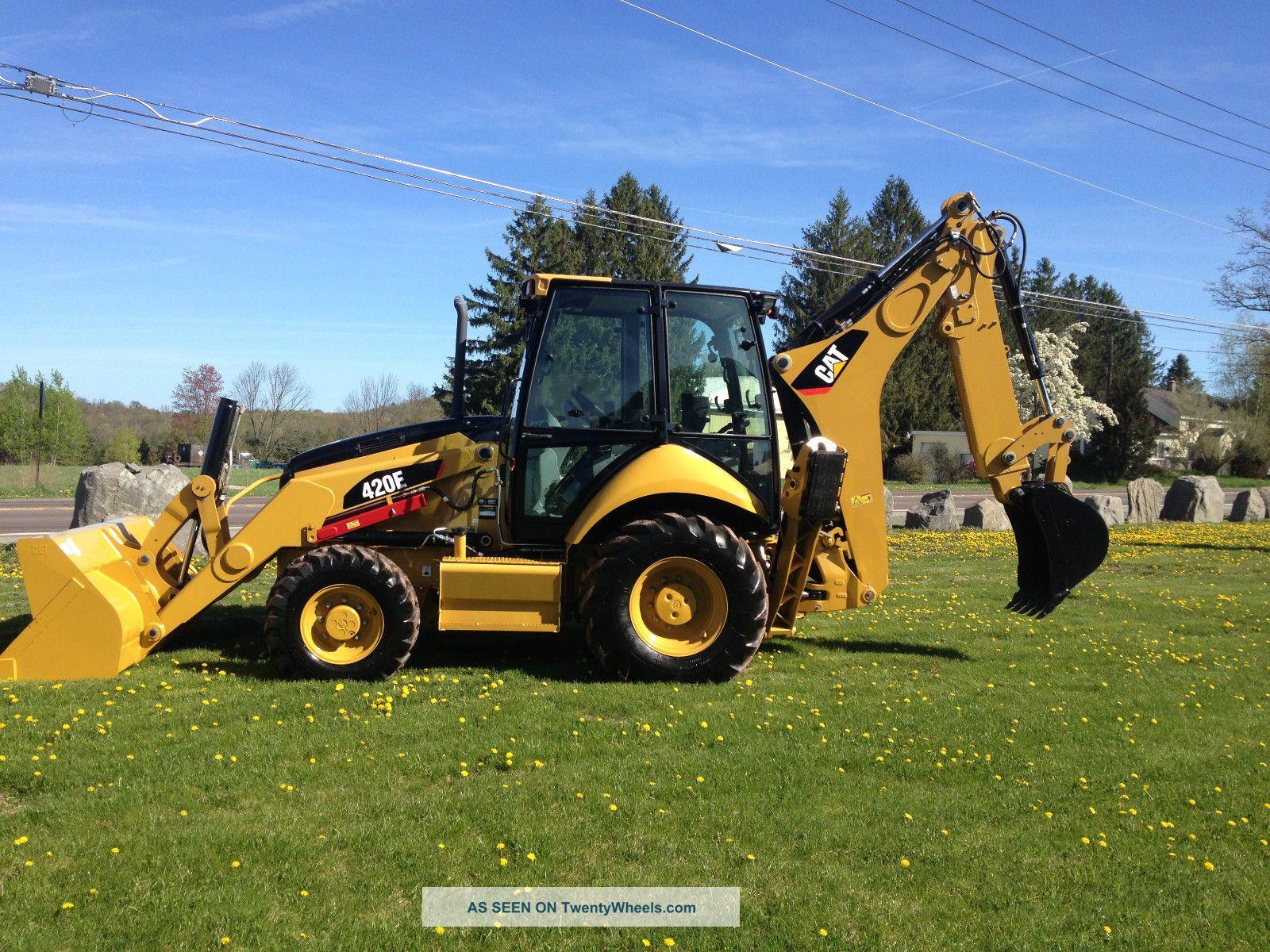 Tractor Loader Backhoe : Caterpillar backhoe images reverse search