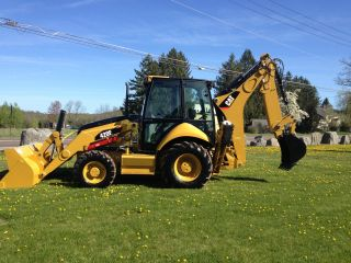 2012 Cat 420e Tractor Loader Backhoe Only 8 Hours photo