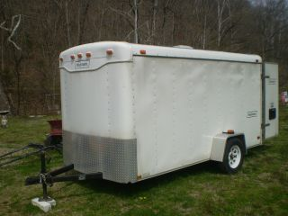 1 12 Ft Cargo Trailer Neww In 1999 Lite Uses photo