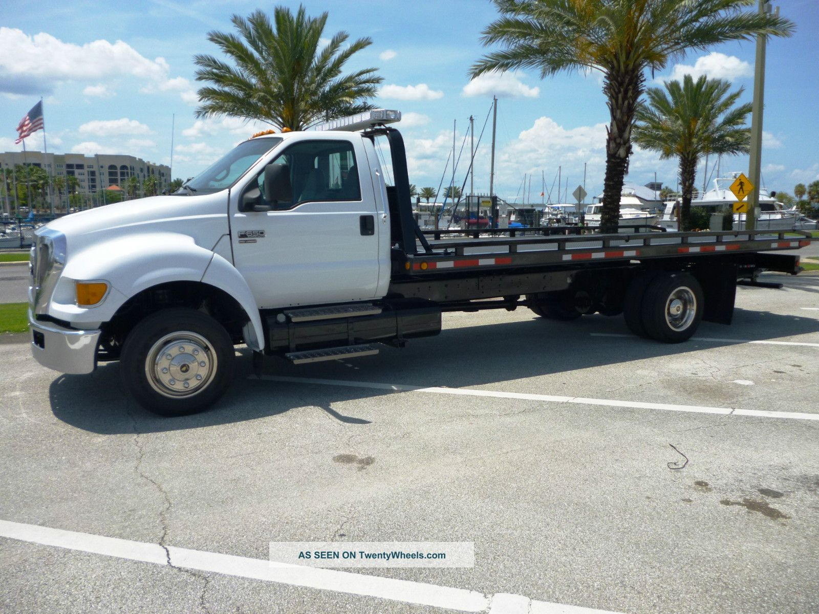 2008 Ford F - 650 Xlt Pro Loader Flatbeds & Rollbacks photo