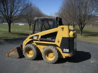 Cat 226 Skid Steer photo