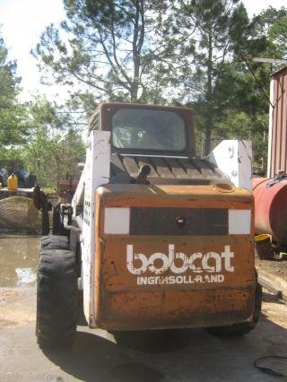 Bobcat 863 Skid Steer photo