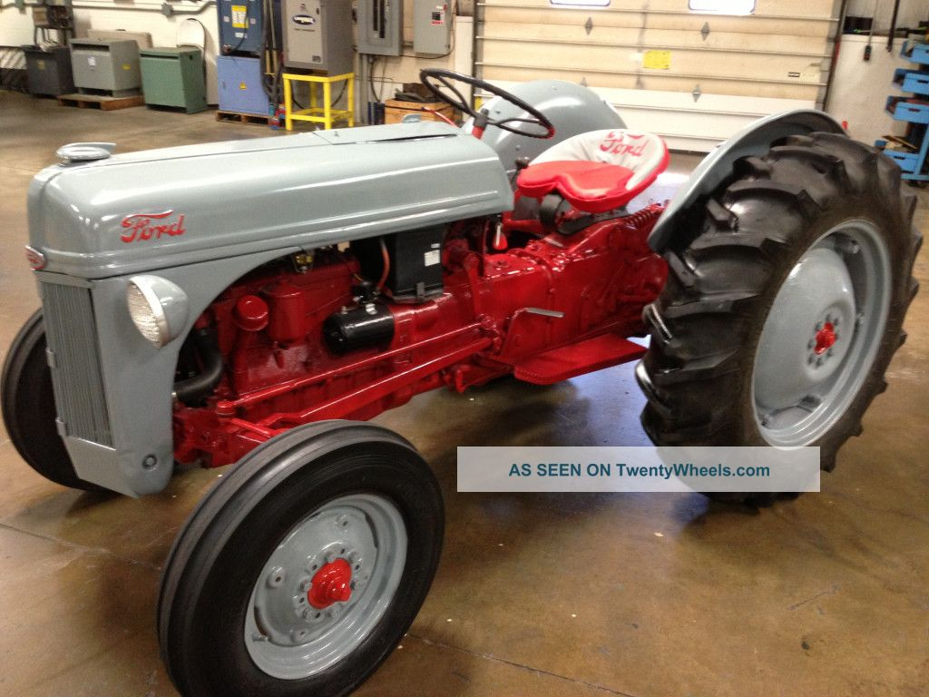 8n Ford Tractor Timing Marks : Ford n specifications bing images