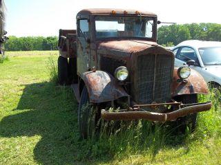 1934 White Dump Truck photo
