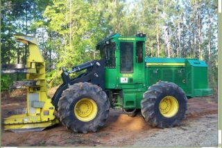 2011 Deere 843k Feller Buncher photo