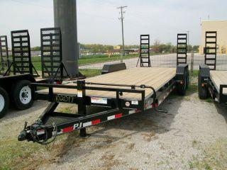 Flat Bed Heavy Duty Equipment Trailer 83
