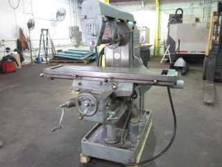 Greaves Model 2h Plain Horizontal Milling Machine photo