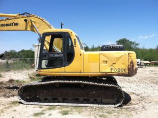 1999 Komatsu Pc200 - 6; One Owner Since 7914 Hrs photo