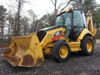 2011 Cat Caterpillar 420e Loader Backhoe; 4 - 1,  Extenda - Hoe,  A/c Cab,  685 Hrs photo