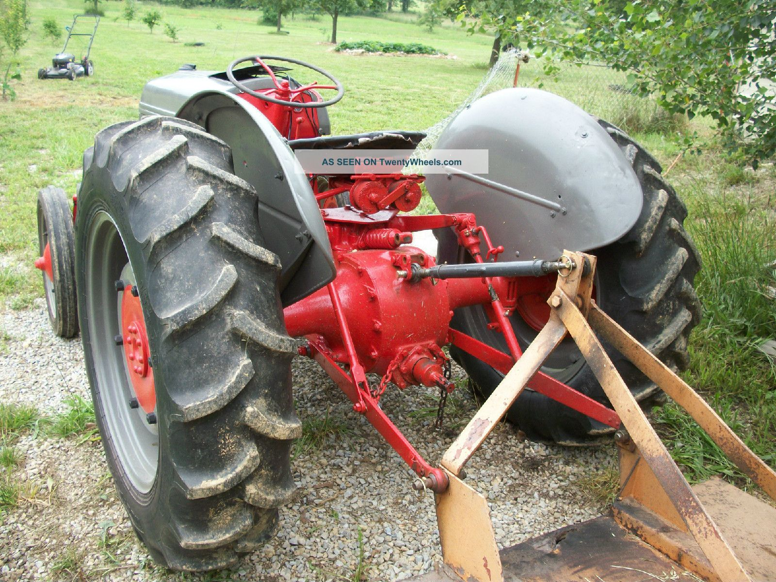 Restored Ford 9n : Ford n tractor restored ready for work or show
