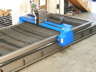 2013 Cnc Plasma Cutting,  Water Table,  Hpr130xd photo