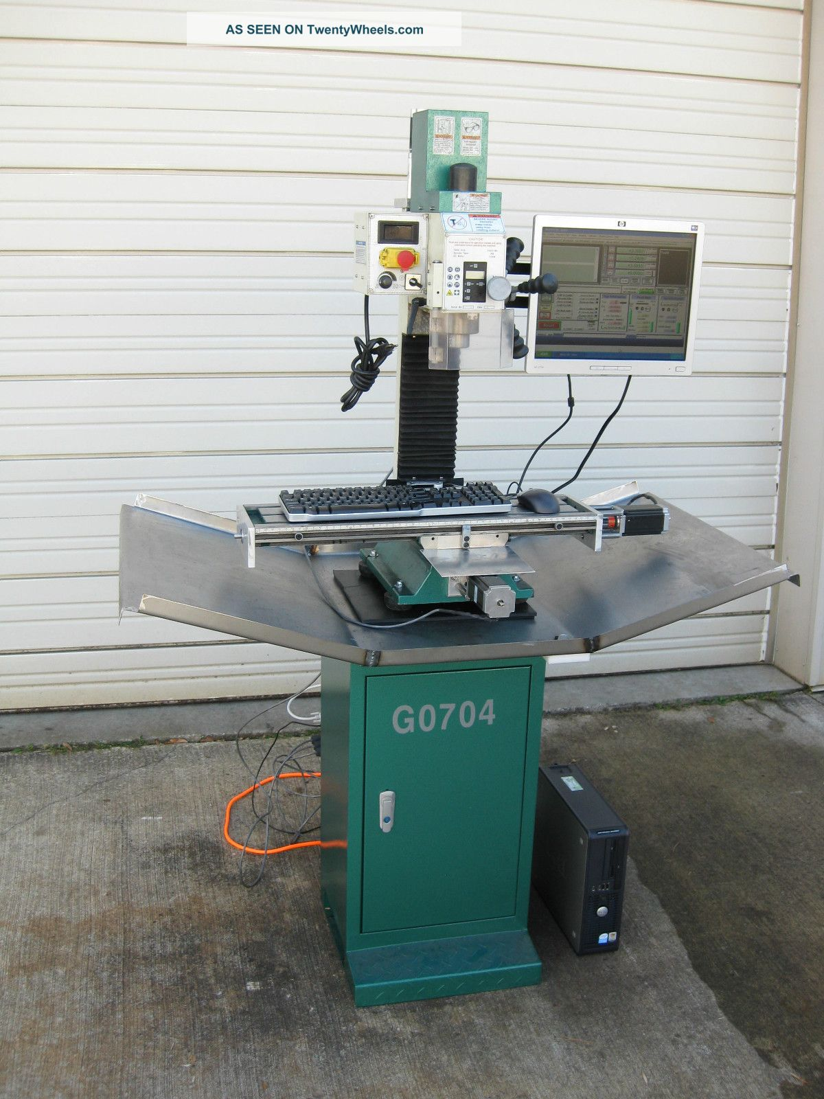 grizzly cnc milling machine