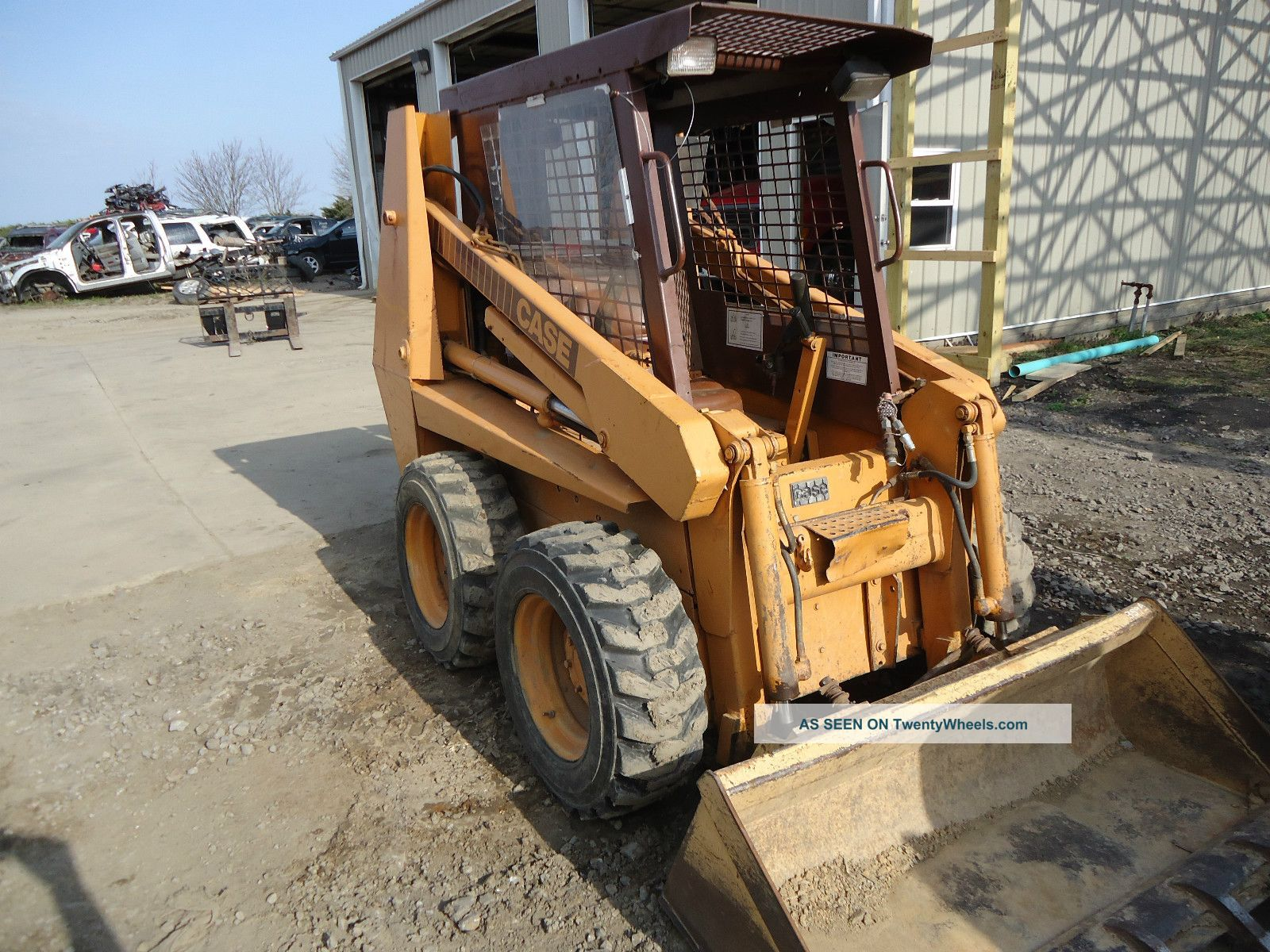 Bobcat Skid Steer Cover : Case c skidsteer bobcat loader skid steer