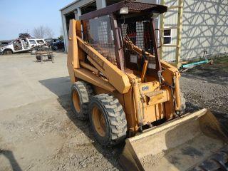 90 - 95 Case 1835c Skidsteer Bobcat Loader Skid Steer Skid 4x4 3000 Hrs Tires photo