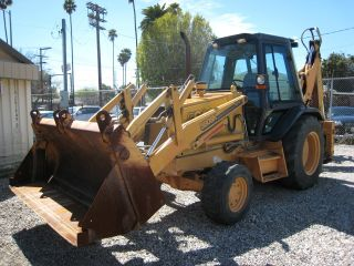 Case 580sk Backhoe Sideshift photo