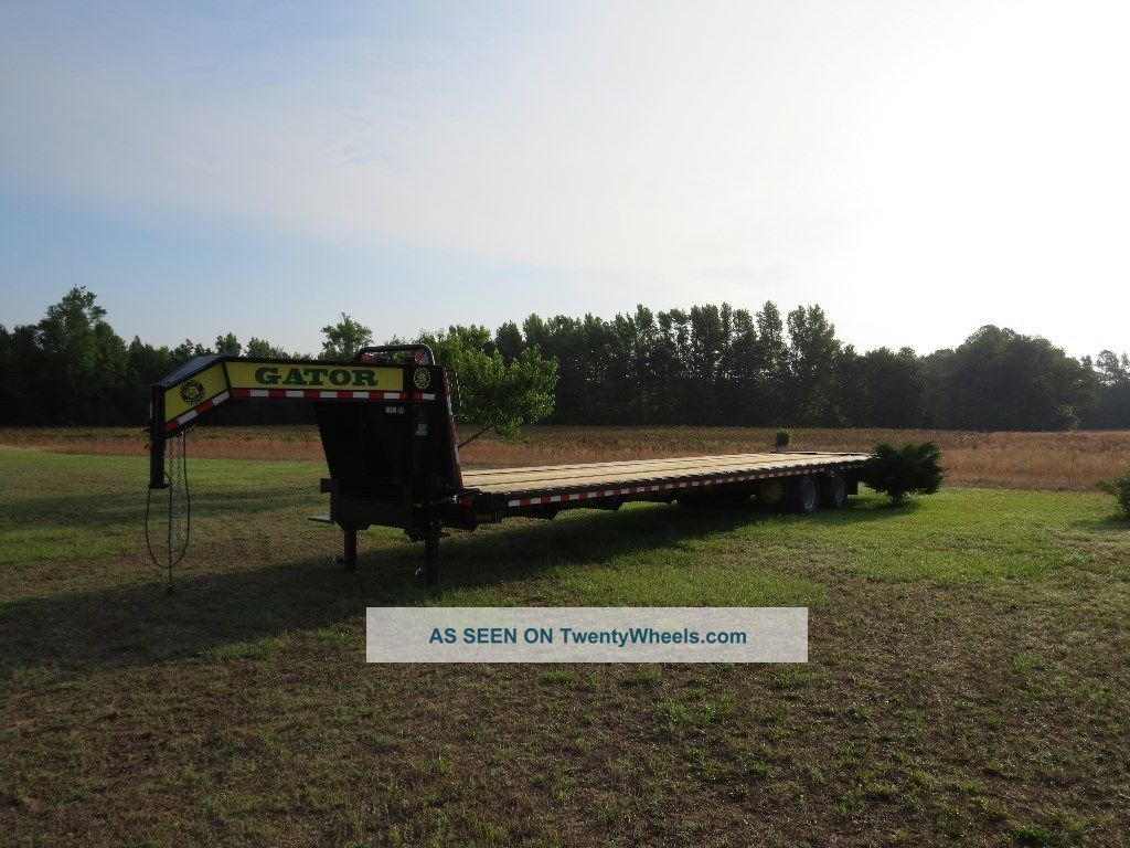 Gatormade 35ft - 5ft Elite Flatbed Gooseneck Trailer Trailers photo