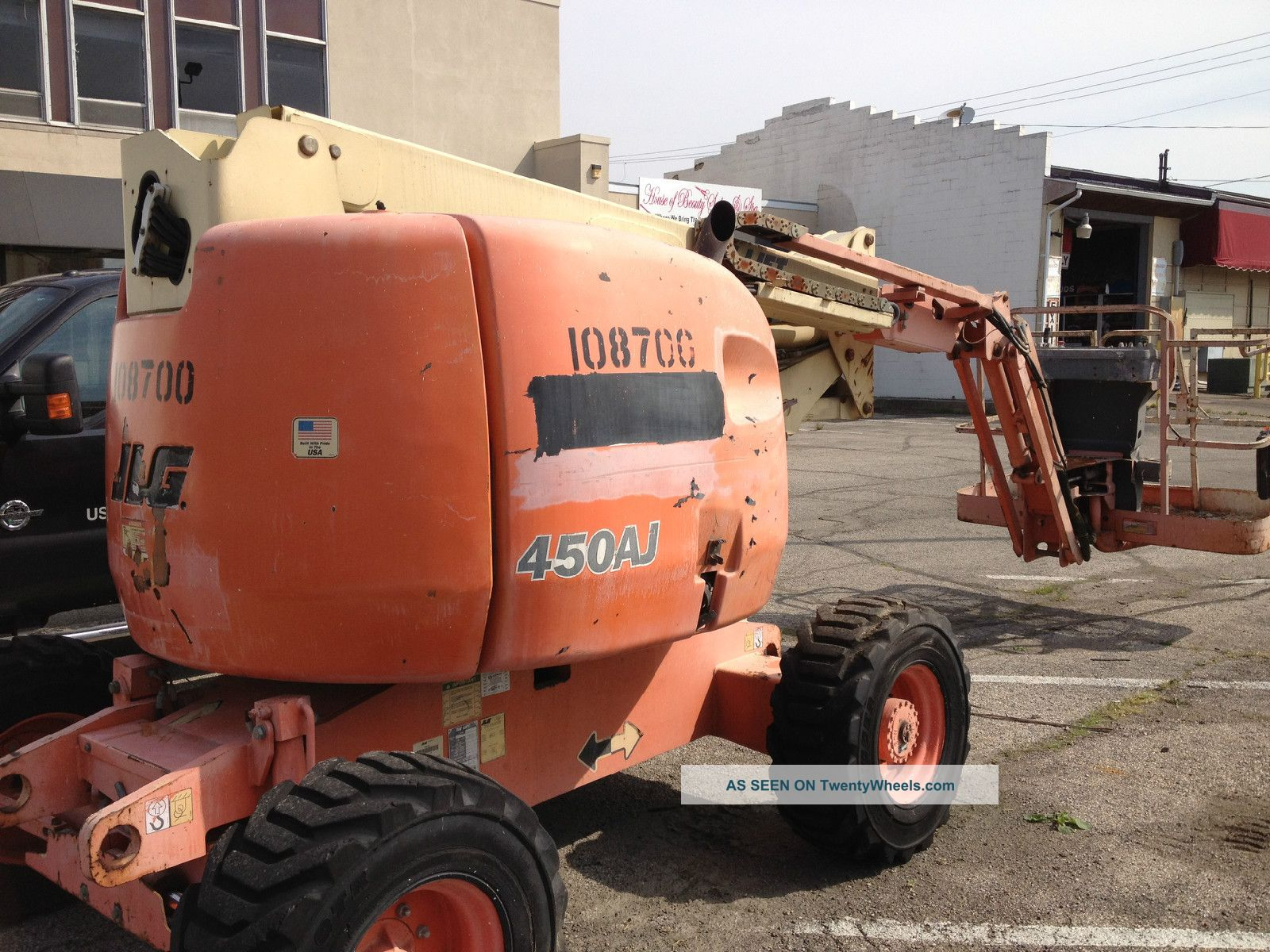Jlg Boom Lift Man Lift Dual Fuel Gas/propane Genie Snorkel Scissor & Boom Lifts photo