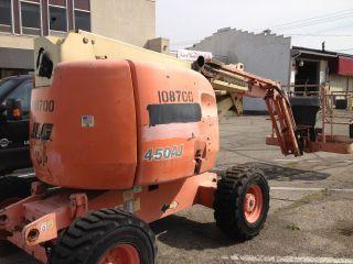 Jlg Boom Lift Man Lift Dual Fuel Gas/propane Genie Snorkel photo
