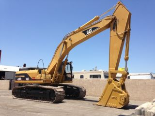 Caterpillar Excavator 345bl Enclosed Cab Diesel Engine photo