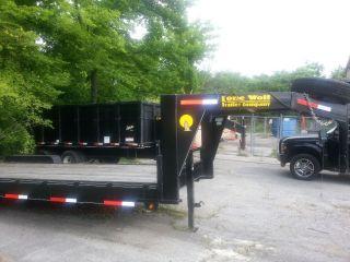 Heavy Equipment Dump Trailer 25k Gooseneck photo
