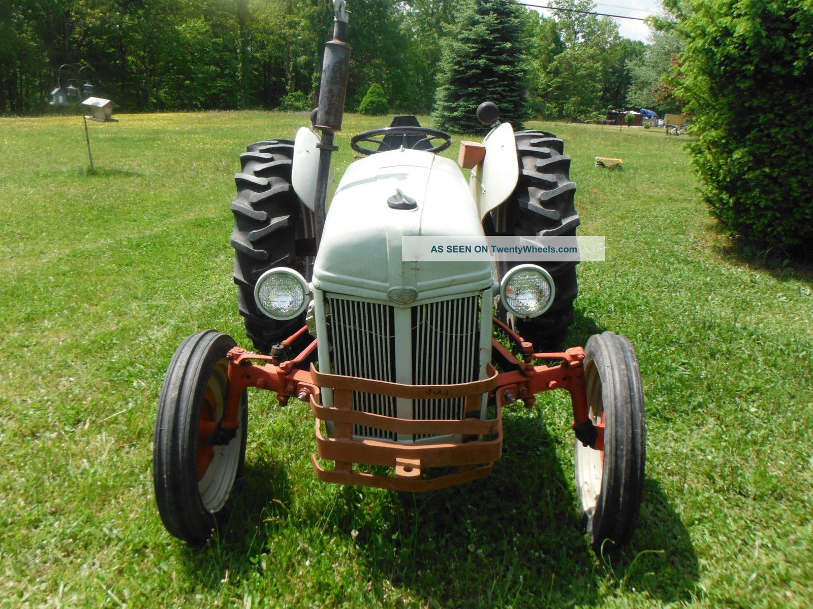 Old Ford Farm Tractors : Vintage ford n farm tractor