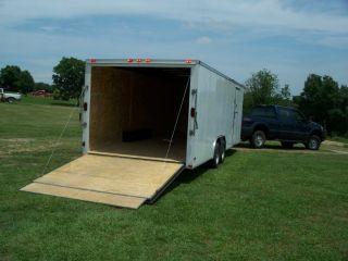 24 Foot Enclosed Vehicle Hauler photo