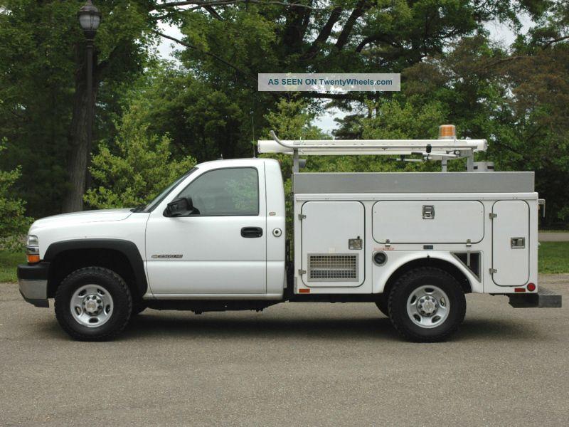 2002 Chevrolet Silverado 2500 Hd 4x4 Utility / Service Trucks photo 9