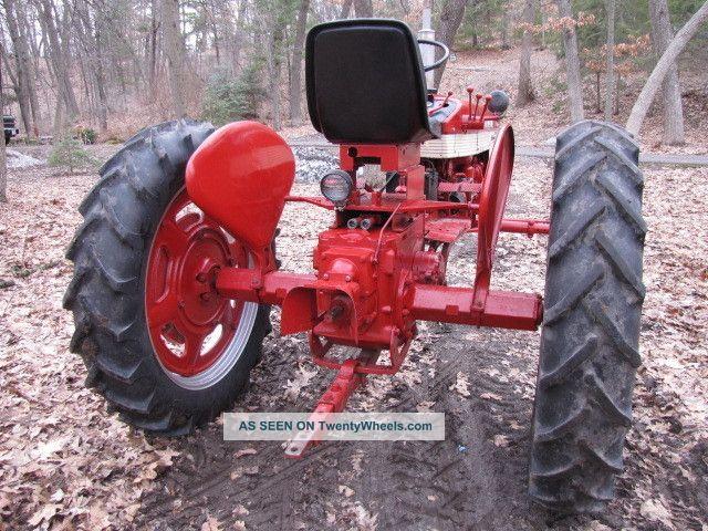 Farmall International Tractor Lgw
