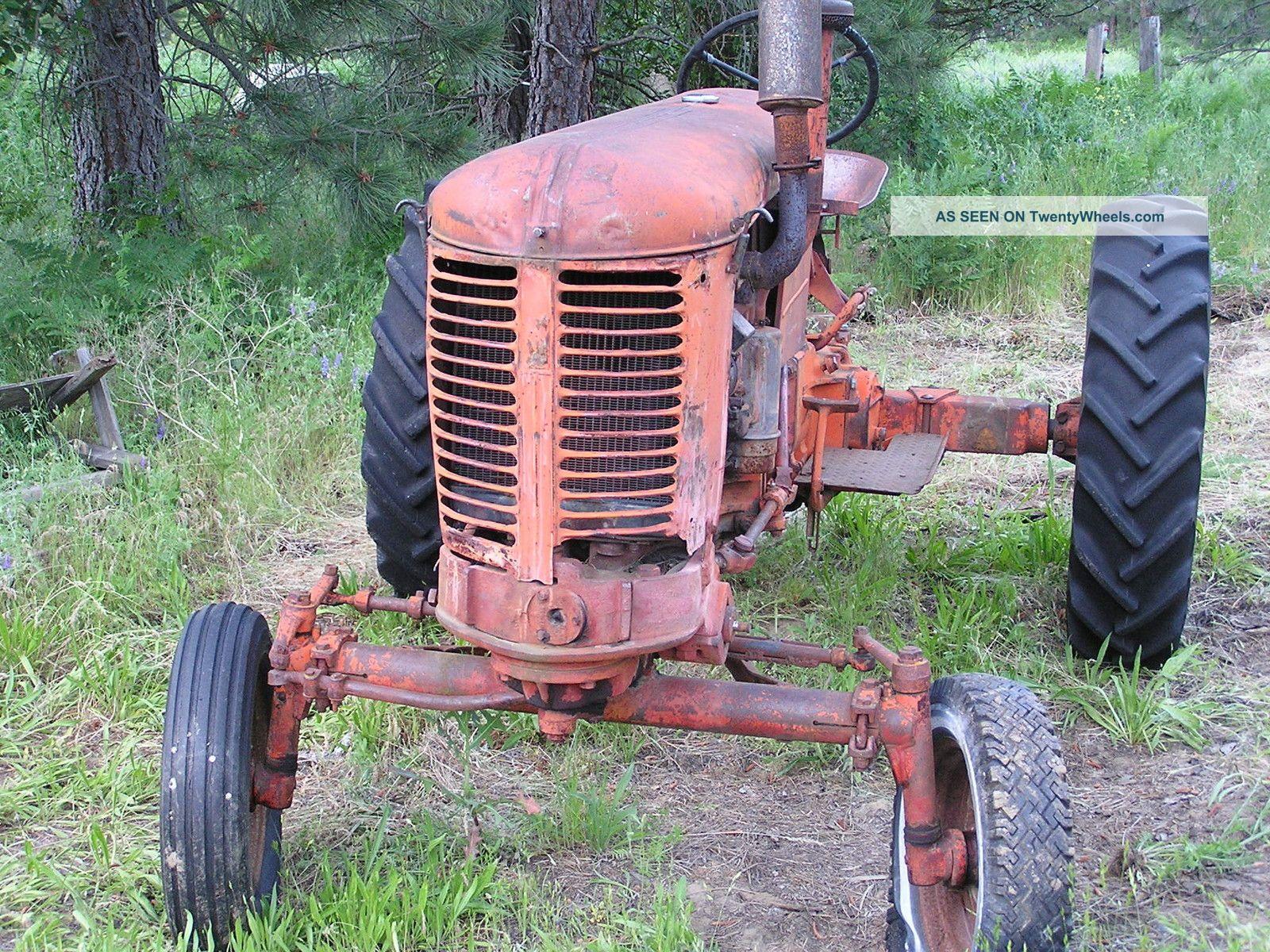 Case Vac 14 : Case tractor vac