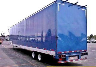 2002 Custom Great Dane Metallic Blue Enclosed 5 Car Hauler 53 X 102 Trailer photo