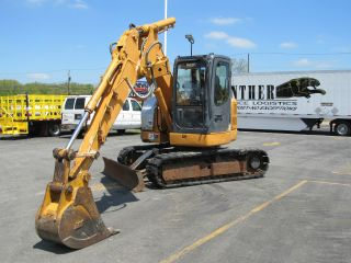 2005 Case Cx75 Sr - Midi Hydraulic Excavator - Offset Boom photo
