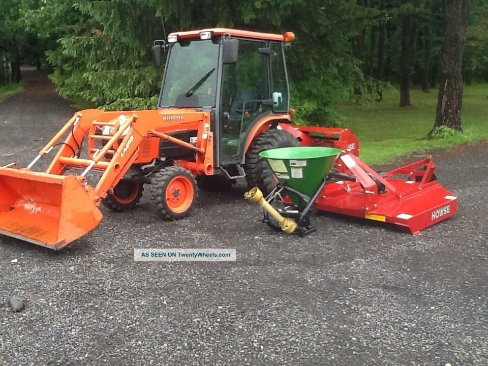Kubota Mower Accessories : Kubota loader tractor attachments