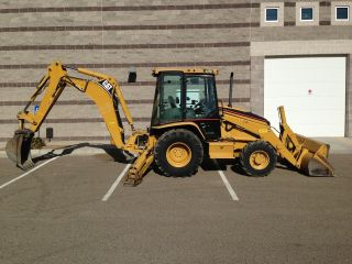 2006 Cat 420d Backhoe 4x4,  Very Recently Serviced & Inspected photo