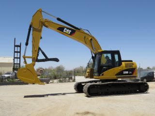 2008 Caterpillar 320d Lrr Hydraulic Excavator photo