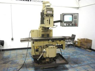 Milltronics Cnc Vertica Lknee Mill Milling Machine 40 Tper Centurion V 5 Control photo