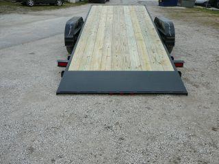 2013 7000 Gvwr Gravity Tilt Bed Trailer/flatbed/car Hauler/lowboy photo