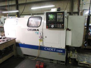 Okuma L1420 Cnc Lathe,  15