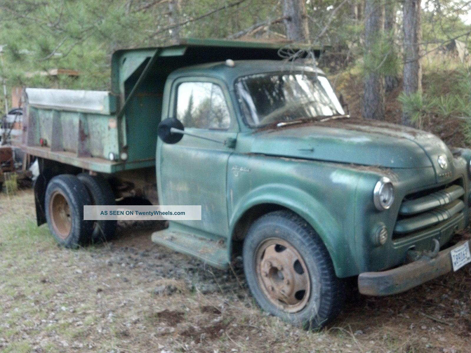 1954 Dodge Ford Dump Truck