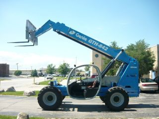 2007 Genie Gth842 Telehandler Terex Th842c Telescopic Forklift Reach Lift photo