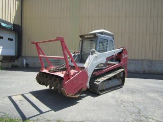 2006 Takeuchi Tl150,  Land Clearing Tracked Skid Steer,  Cab With A/c photo