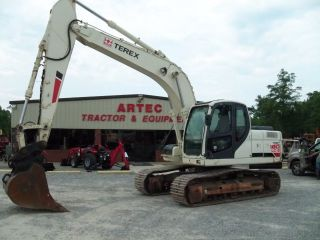2006 Terex Txc180 Lc - 2 - Excavator - Loader - Backhoe - Enclosed Cab W/heat / Ac photo