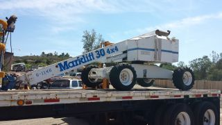 Manlift 4x4 Boomlift Gas/lpg 30ft photo