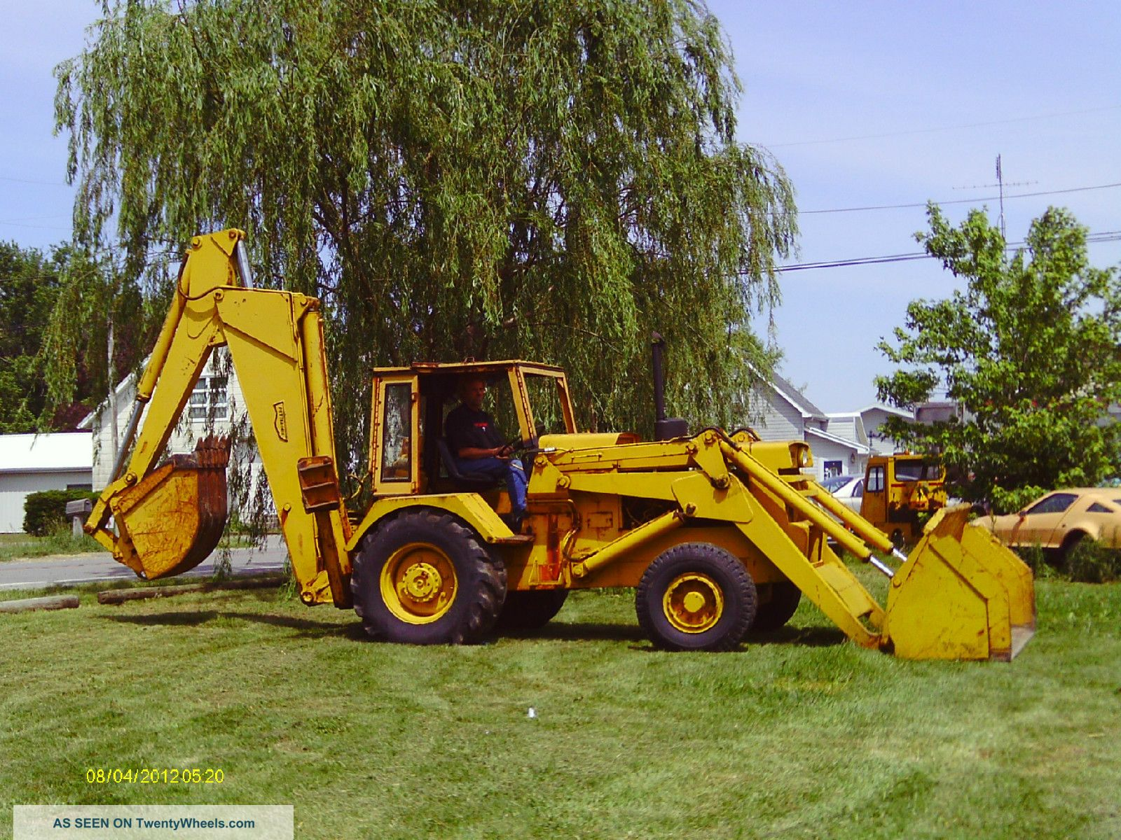 Pettibone Backhoe Backhoe Loaders photo