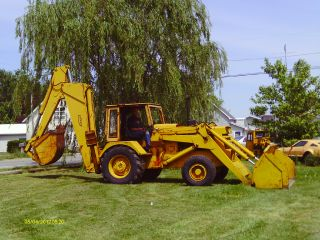 Pettibone Backhoe photo