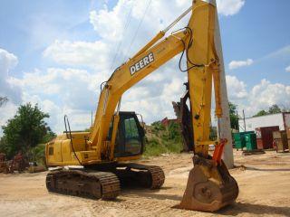 2006 John Deere 160c Lc Excavator photo
